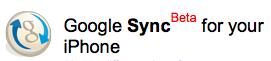google-sync-beta