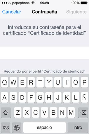 Como Instalar Certificado Digital iPhone iPad - Contraseña
