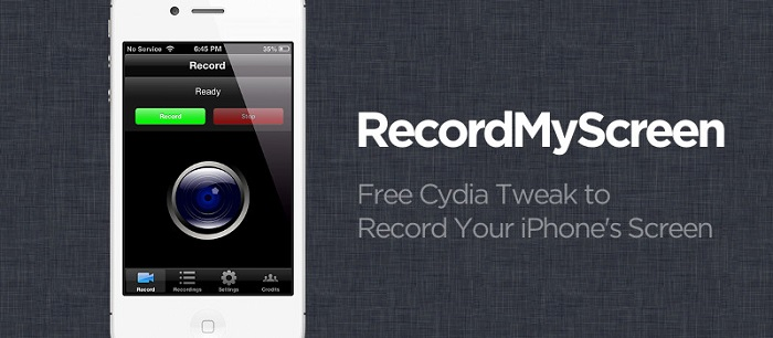 RecordMyScre Cydia Tweak - TiP
