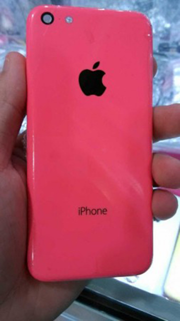iPhone Low-Cost Rosa - Front