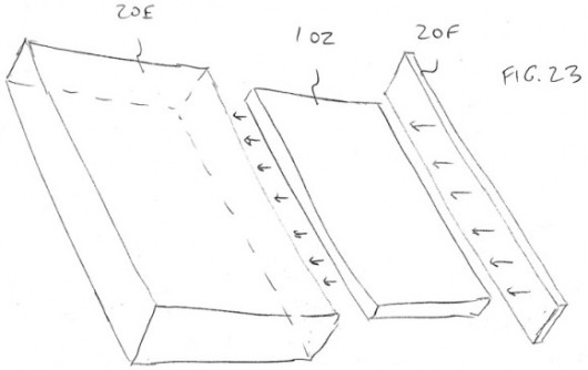 iPhone Cristal Patente