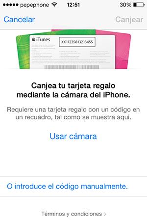 Como Canjear Promo Condes iTunes - 6