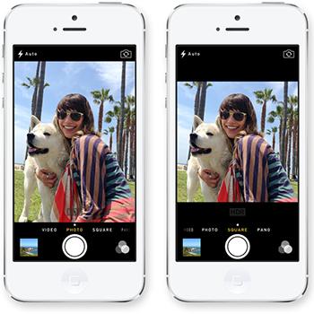 iOS 7 Camara - Cuadros