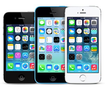 iPhone 4S - iPhone 5C - iPhone 5S