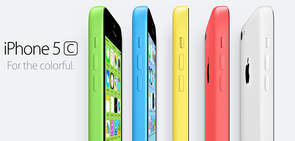 iPhone 5C - Colorful