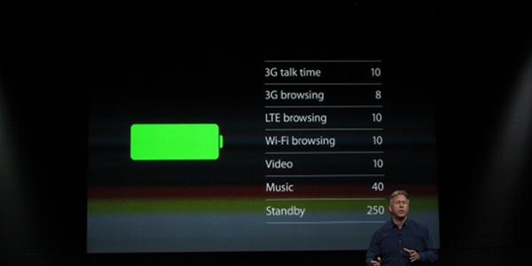 iPhone 5S Bateria