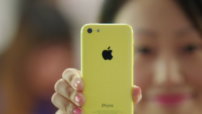 Anuncio Apple iPhone 5c