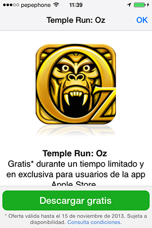 Descarga Temple Run OZ Gratis - 1