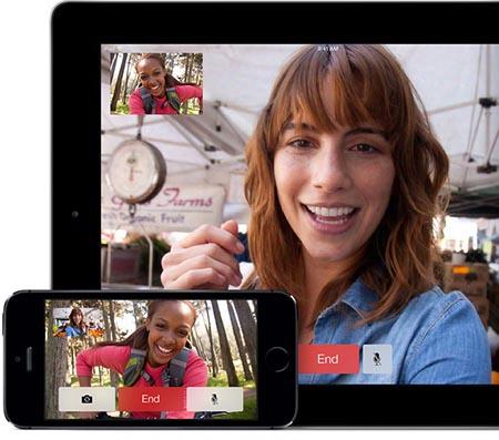 Facetime iOS 7 iPhone iPad