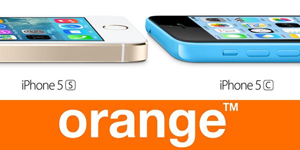 iPhone 5s iPhone 5c precio tarifas orange
