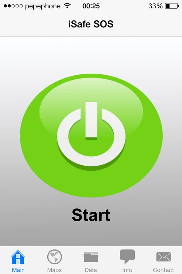 iSafe SOS - Start