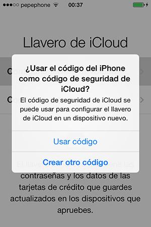 Configurar Llavero iCloud iPhone y iPad - 1