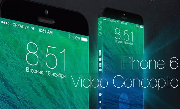 iPhone 6 Video Concepto