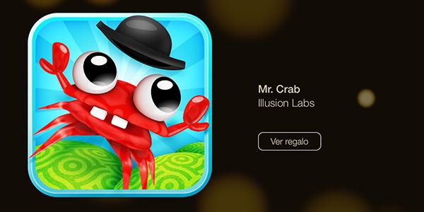 Mr. Crab - 12 Dias Regalos