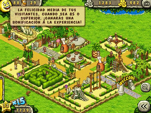 Prehistoric Park Builder - Felicidad Visitantes