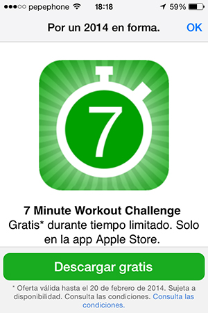 7 Min Workout - Promo Code