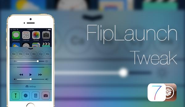 FlipLaunch Tweak