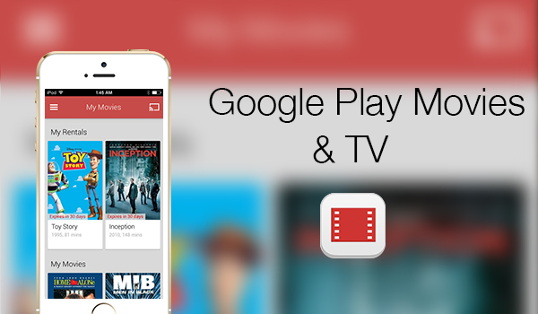 Google Play Movies & TV - App