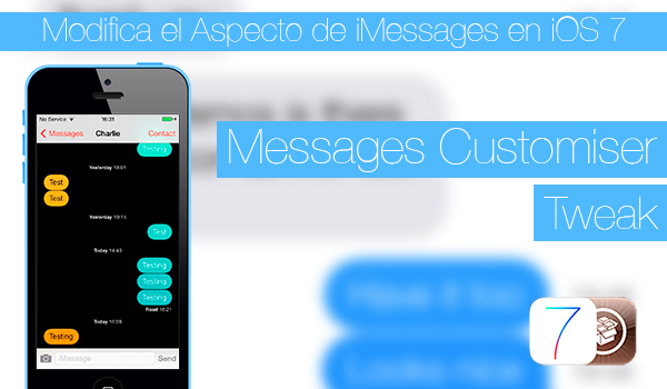 Messages Customiser - Tweak