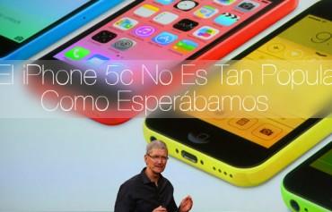 iPhone 5c No Es Tan Popular