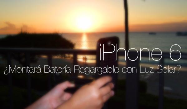 iPhone 6 Bateria Solar
