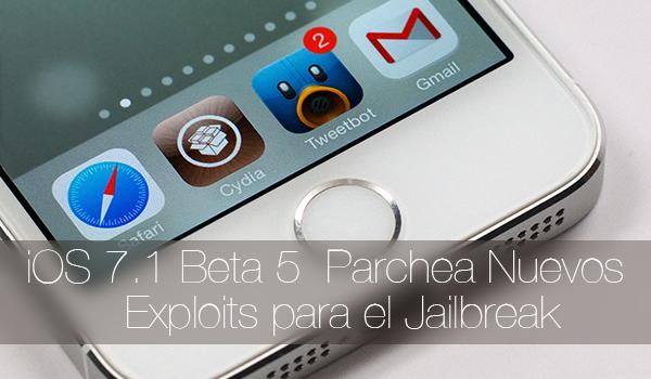 iOS 7.1 Beta 5 Parchea Jailbreak