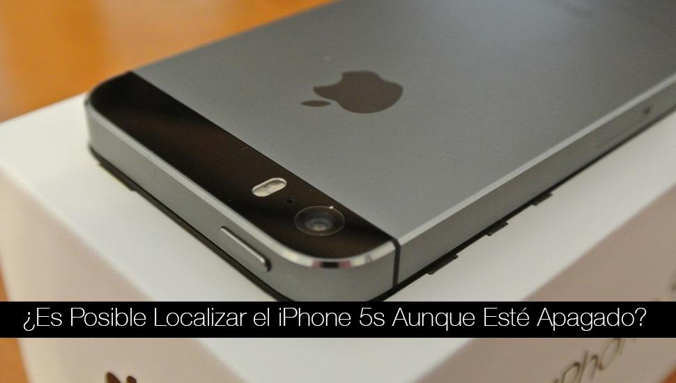 """¿Es Posible Localizar el iPhone 5s Aunque Esté Apagado"""""""