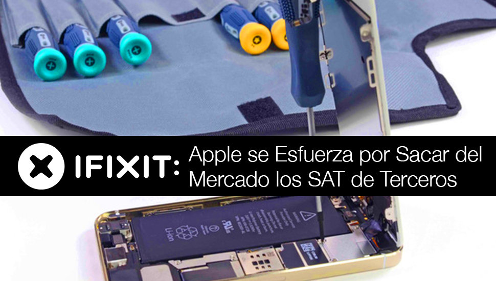 iFixit - iPhone No Reparable