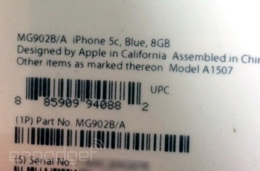 iPhone 5c Blue 8GB - Box