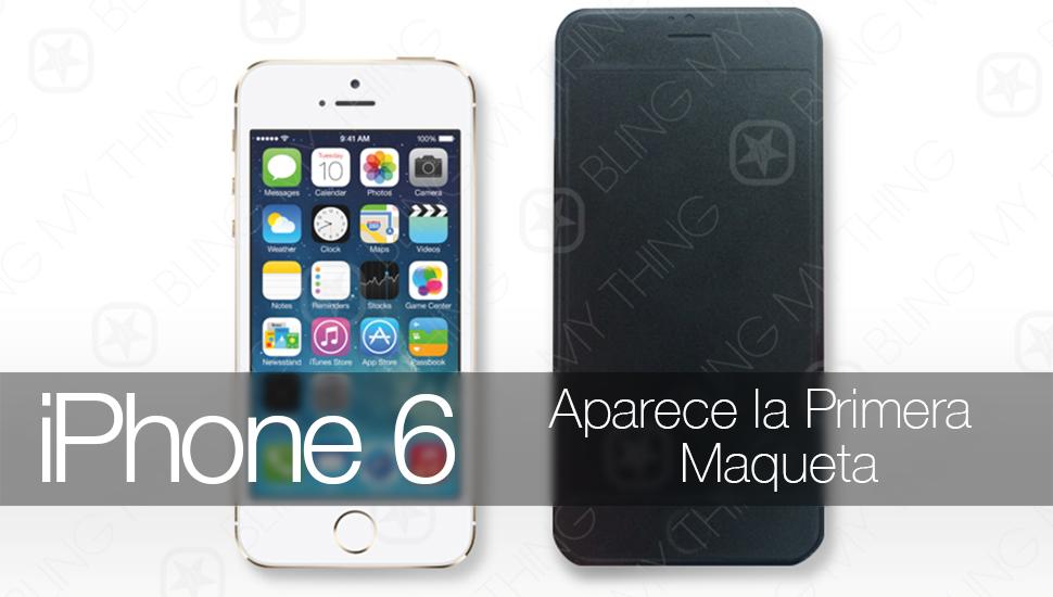 iPhone 6 Maqueta