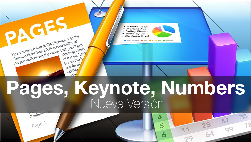 Pages Keynote Numbers - Nueva Version