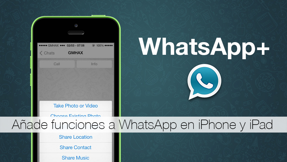 WhatsApp Plus iPhone iPad