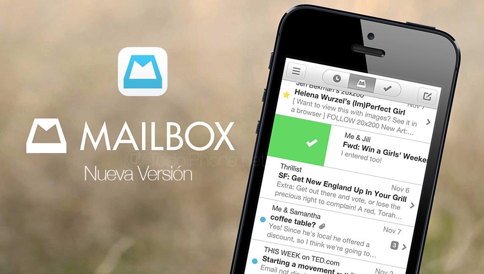 Mailbox añade la integración con enlaces de las aplicaciones