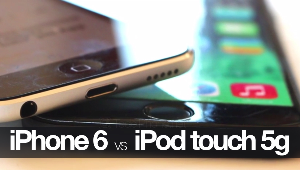 iPhone-6-Maqueta-vs-iPod-touch-5G