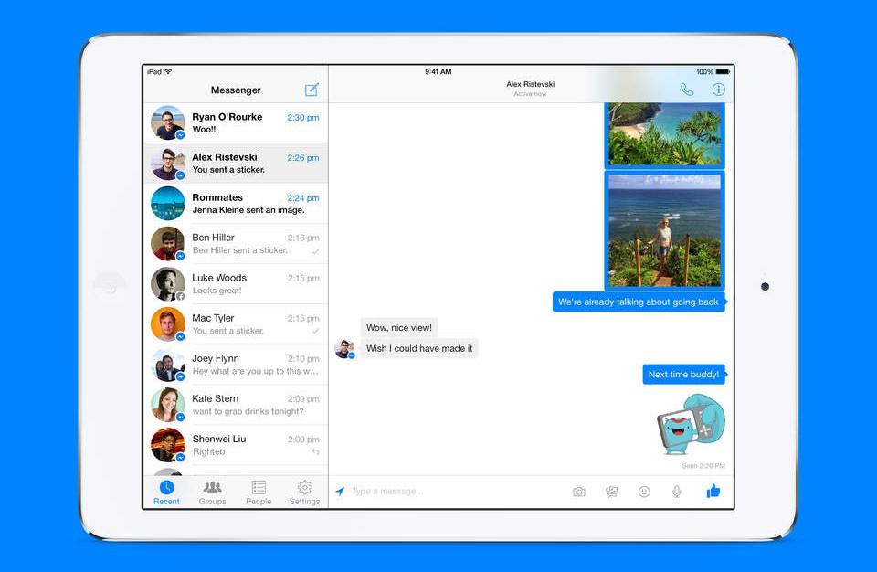 Facebook-Messenger-screenshot-iPad-1