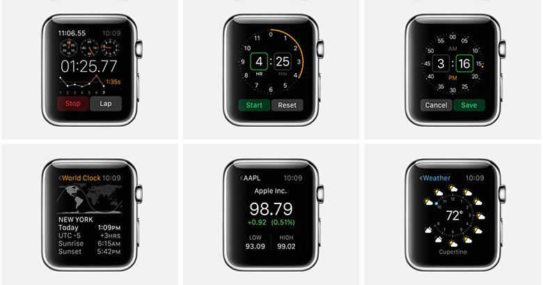 Apple-Watch-Apps-Cronometro-Tiempo-Bolsa-Reloj-Mundial