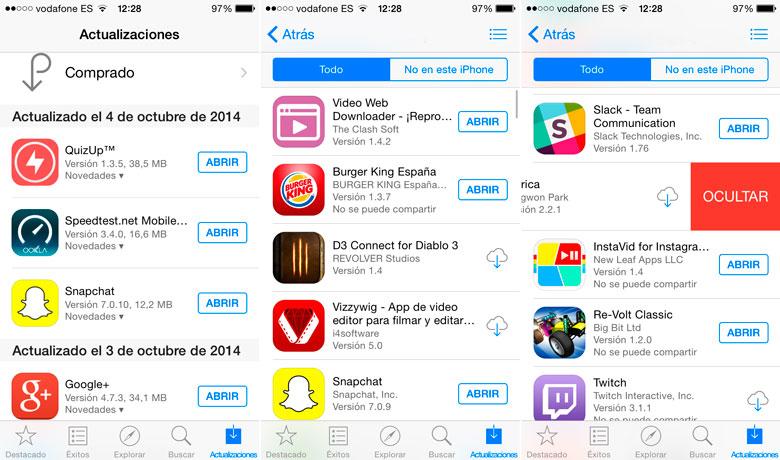 ocultar-compras-app-store-ios-8