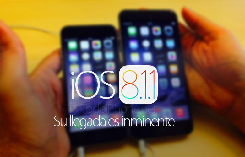 ios-8-1-1-lanzamiento-iPhone-iPad-Pronto