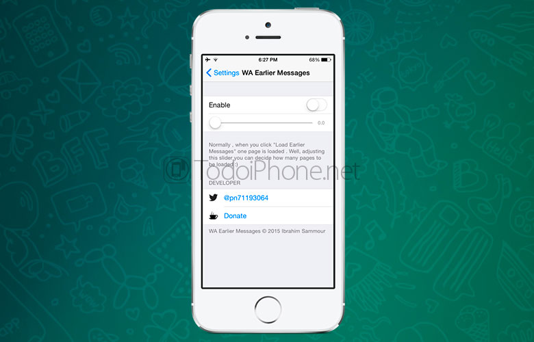 WA-Earlier-Messages-Tweak-iPhone-Preferencias