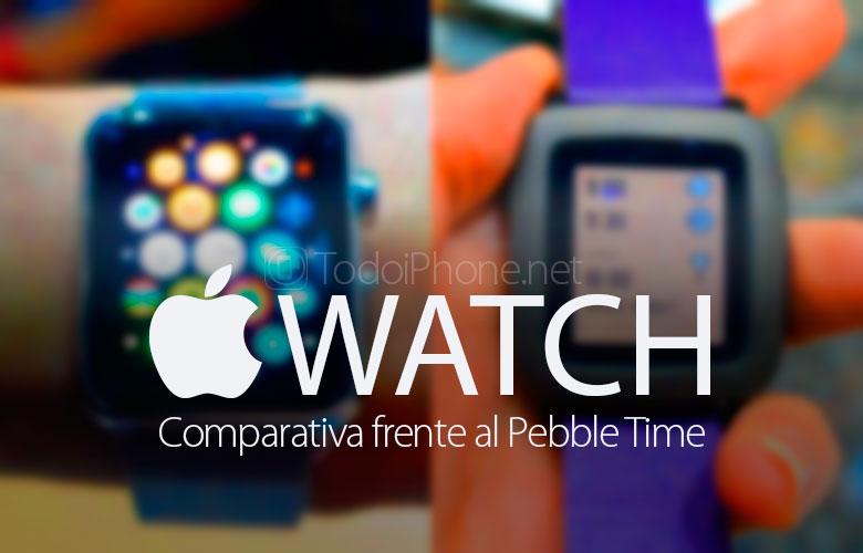 comparacion-apple-watch-vs-pebble-time