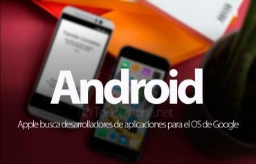 apple-busca-desarrolladores-aplicaciones-android