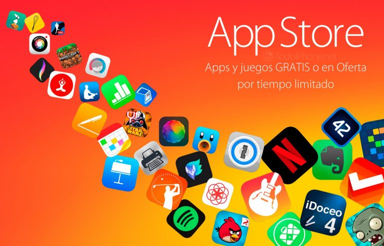apps-juegos-oferta-gratis-ipad-iphone-2016