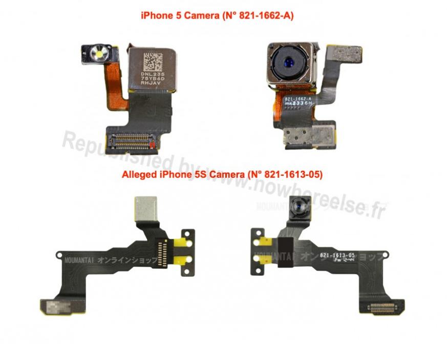 Componentes cámara iPhone 5S - 1