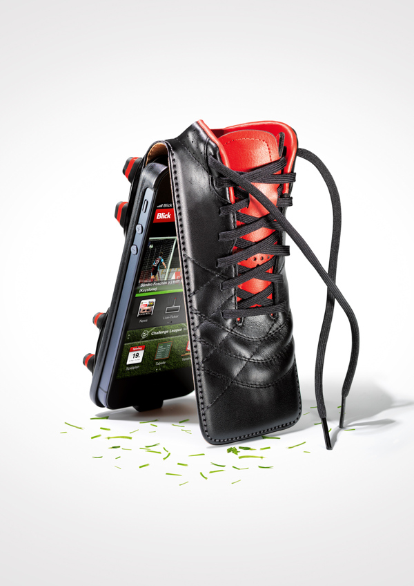 Twin-Desing BLICK Apps Soccer - Fundas para iPhone