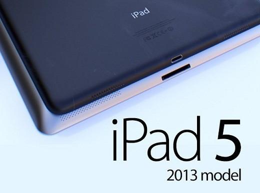 iPad 5 en produccion a partir de Julio 2013