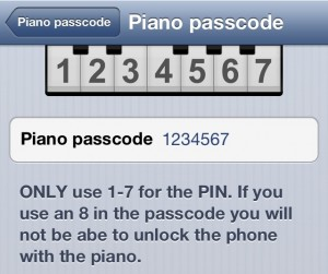 Piano-Passcode-Config