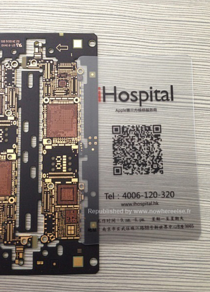 Placa Base iPhone 5S - iHospital 1
