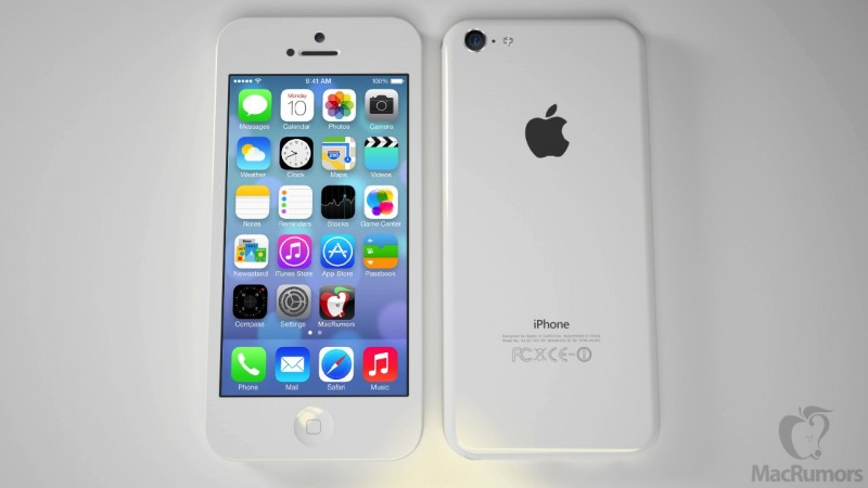 iPhone Low-Cost Render White