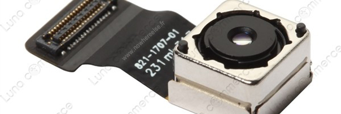 Componente Camara iPhone 5S