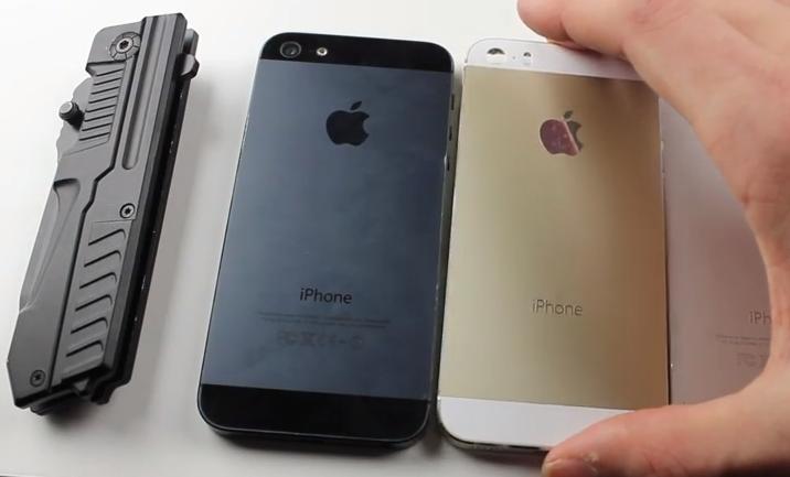 iPhone 5S Champagne - Vídeo Test de Resistencia